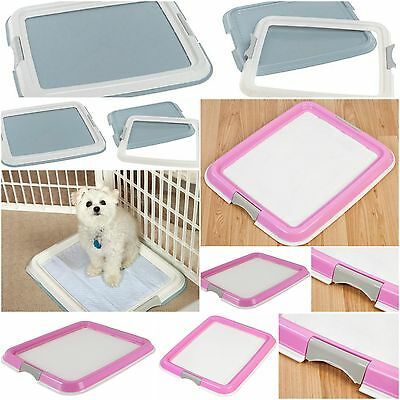 Pet Training Pad Holder Puppy Wee Pee Potty Protection Tray Floor Indoor Trainer