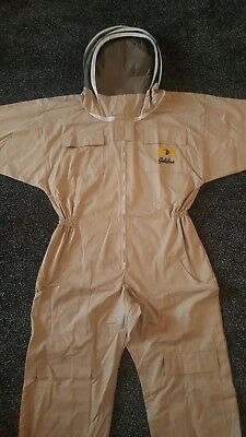 Uk Beekeepers Bee Suit Thick High Quality Ventilated Durable Protective   Veil