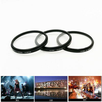 37 43 52 55 58 67 72 77 82mm 4PT 6PT 8PT 8 Point Star Filter For Camera Lens