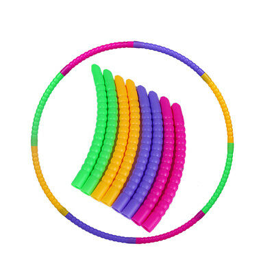 Fb- Adjustable Hoola Hula Hoop Child Kids Fitness Exercise Toy Gift Plastic Fadd