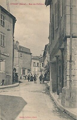 CPA - France - (55) Meuse - Stenay - Rue des Orfèvres