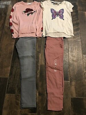 Lot of 4 Girls Size 12 Pants/Shirts from The Children's Place - NEW WITH TAGS!