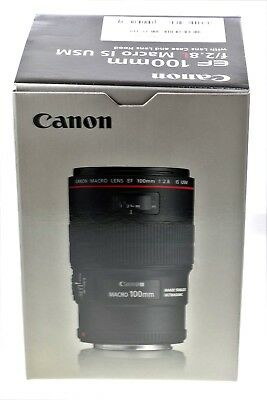 Canon EF 100mm F/2.8l Macro Is USM Lens-*Free next day special delivery*