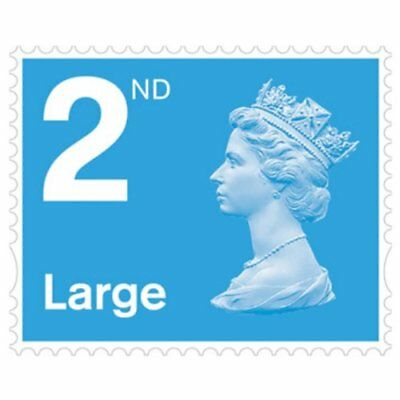 50 x 2nd Class Large Letter Stamps Royal Mail Self-Adhesive