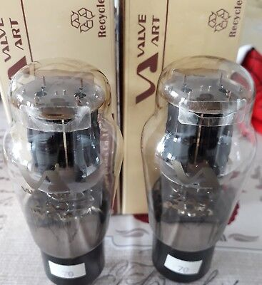 2A3 Valvole Matched Pair  Tube Valve Art New In Box Tested