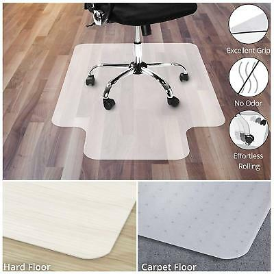 Office Marshal Office Chair Mat Yellow Hard Floor Protection