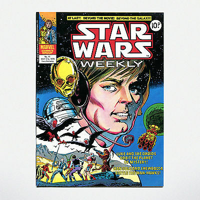 STAR WARS WEEKLY - No. 17 ( UK / 1978 ) ***VERY GOOD CONDITION***