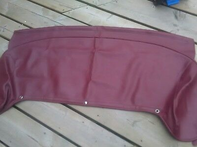MG TF  / MGF mk2 grenadine red roof cover  / Tonneau cover rare
