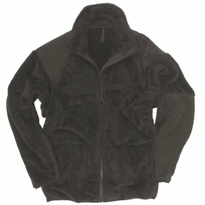 US Fleece Jacke Gen.III ECWCS Level III, schwarz, Medium (Gr.48-50)