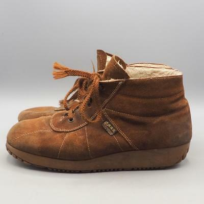 Vintage Mens 1970's Suede Kinney G.A.s.s. Shoes