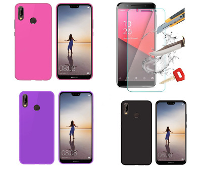 For Vodafone Smart X9 New Ultra Thin Shockproof Gel Case Cover & Tempered Glass