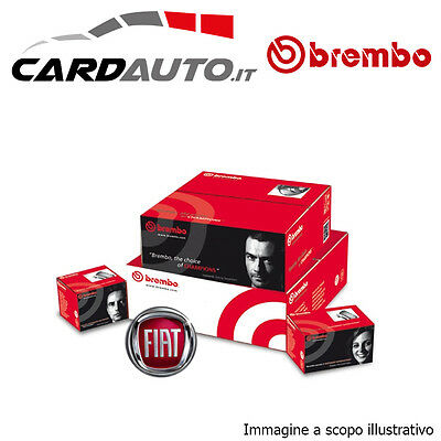 KIT DISCHI + PASTIGLIE FRENO BREMBO FIAT PUNTO 1.2 Natural Power 44KW ANT