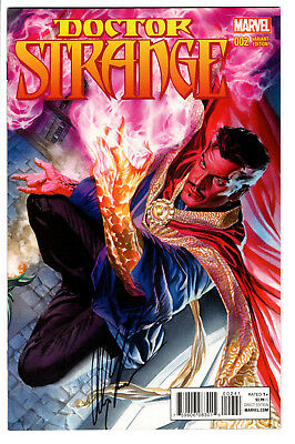 Doctor Strange #2 Alex Ross 1:100 *signed* Variant Sdcc Coa Marvel