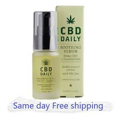 CBD Daily Soothing Serum & Cream, Muscle Joint Pain Relief....