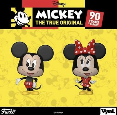 Funko Vynl Disney Mickey Mouse & Minnie Mouse 2 Pack 90th Anniversary Preorder!