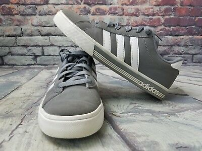 ... hot sales Men s ADIDAS NEO shoes Daily Team Sneaker Grey White aw4795  casual . ... 1cddef098