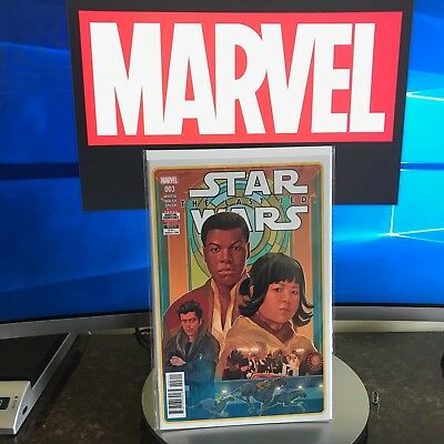 Star Wars the Last Jedi #3 2018 Marvel Comics