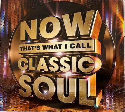 NOW THAT'S WHAT I CALL CLASSIC SOUL [3 CD] NEW & SEALED Feat Marvin Gaye