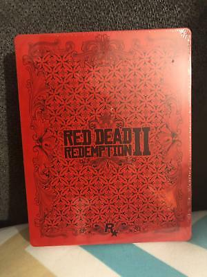 Red Dead Redemption 2 II STEELBOOK Rare New PS4 XBOX ONE
