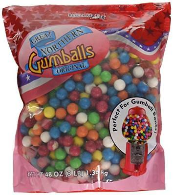 6261 Great Northern Original .5 Inch Gumballs Refills 3 Pound Bag For Gumball...