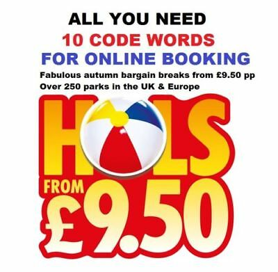💖 The Sun Holidays Booking Codes £9.50 ALL 10 Token Code Words Instant Response