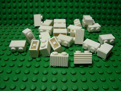 ** 25 CT LOT **  Lego NEW white 2 x 2 modified facet brick pieces   Lot of 25