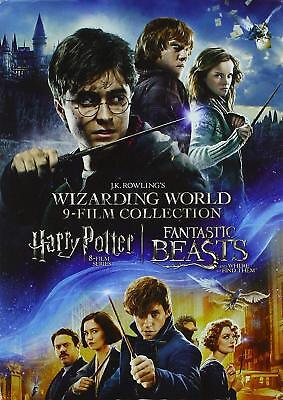 Wizarding World 9-Film Collection (DVD, 2017, Harry Potter, Fantastic Beasts)
