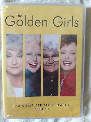 The Golden Girls - The Complete 1st First Season (3-Disc DVD Set ) (New/Sealed)