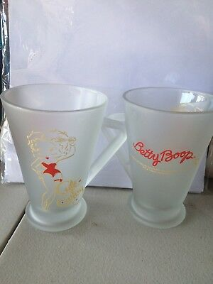 Betty Boop Large Glass