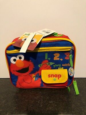Elmo Sesame Street 123 Lunch Cooler- **New With Tags**
