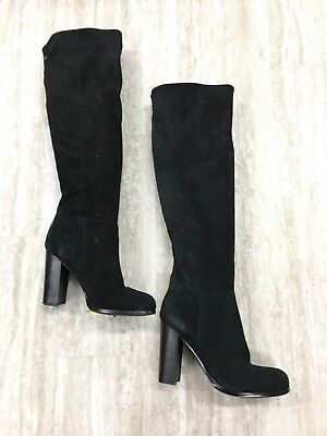 26446d6a55781 Sam Edelman Victoria Over The Knee Black Suede Boots Size  10