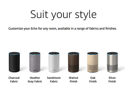 Amazon Echo Smart Alexa Speaker (2nd generation) - all colours !!!