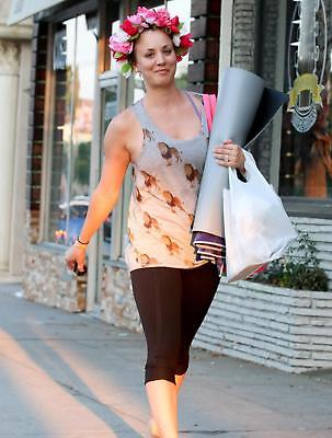 Kaley Cuoco With A Wreath Of Flowers On His Head 8x10 Glossy Photo Print