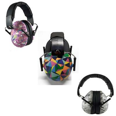 Banz Ear Defenders Kids Ages 2-10 Years Graffiti / Peace / Kaleidoscope