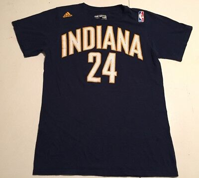 e967c2f4b2c ADIDAS MENS INDIANA Pacers Hickory NBA Paul George Shirt Red Large ...