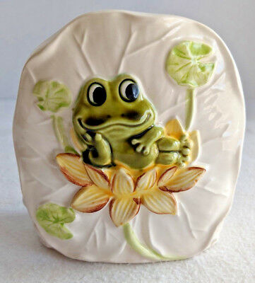 Vintage 1977 Sears Roebuck And Co. Frog Design Napkin Holder