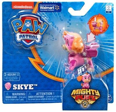 Paw Patrol Mighty Pups Skye Exclusive Figure New