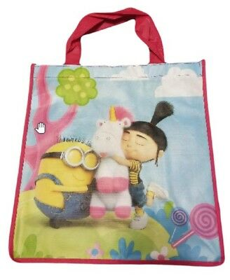 c07c0a67f075 MINION DESPICABLE ME Unicorn Bag Basket Reusable Tote Grocery - FREE  SHIPPING