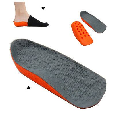 Inside 2.5cm Height Increase Lift Insole Pad Shoe Heel Half Pad 1 Pair ♫
