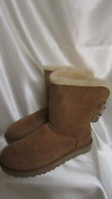 1b8ff51465c WOMEN`S AUTHENTIC UGG Bailey Bow Short Ruffle Boots Size 8M New #1095794  W/che