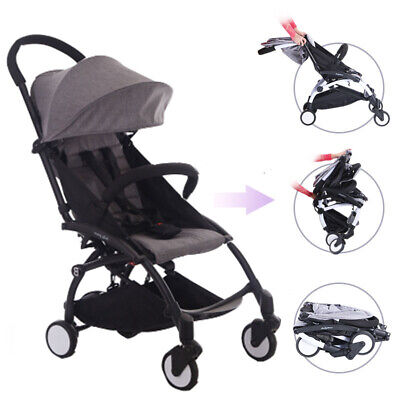 2019 Compact Lightweight Baby Child Stroller Pram Easy Folding Travel Carry-on