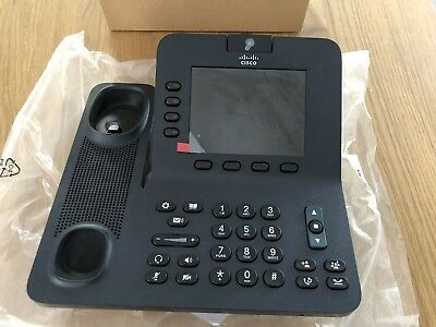 Cisco 8945 IP Phone w Video - Like new