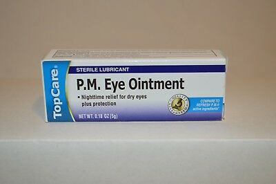 Top Carer PM Eye Ointment Compare to Refresh PM Lubricant Eye Ointment Exp 08/20