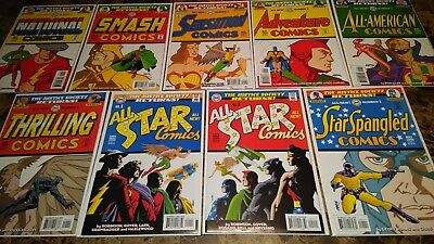 Justice Society Returns All Star 1 2 VF/NM 9.0 Complete 9 Comic Series
