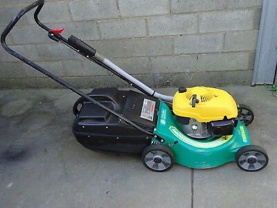 """Weed Eater Lawn Mower Ohv 5.5Hp Engine 4 Stroke 18"""" Alloy Lawnmower"""