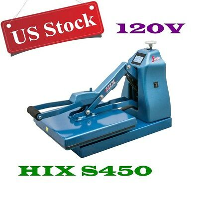 "Digital Auto Open Clamshell Heat Press Machine + 15""x 15"" Platen&Splitter Stand"