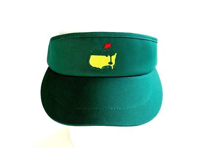 NEW Masters High Crown Tour Visor Augusta National Emerald Green Adjustable c6bb327c043e
