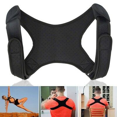Body Wellness Posture Corrector Back Straight Shoulders Brace Strap Correct SM