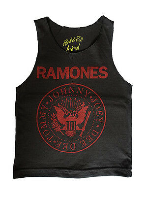 Ramones Kids Singlet Rock And Roll Girls Boys Punk Rocker Grunge Love Gift Cute