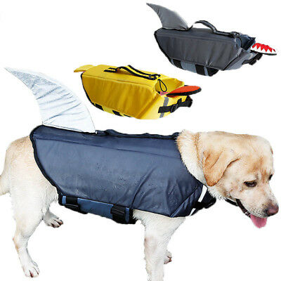 Dog Life Jacket Safety Vest Surfing Swimming Puppy Clothes Reflective Dog Safety